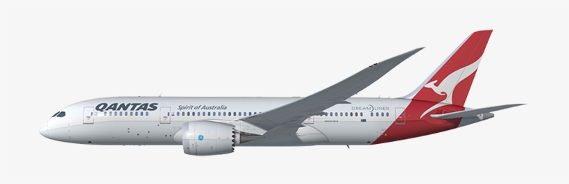 Download Free png Qantas Plane Transparent Background Png.