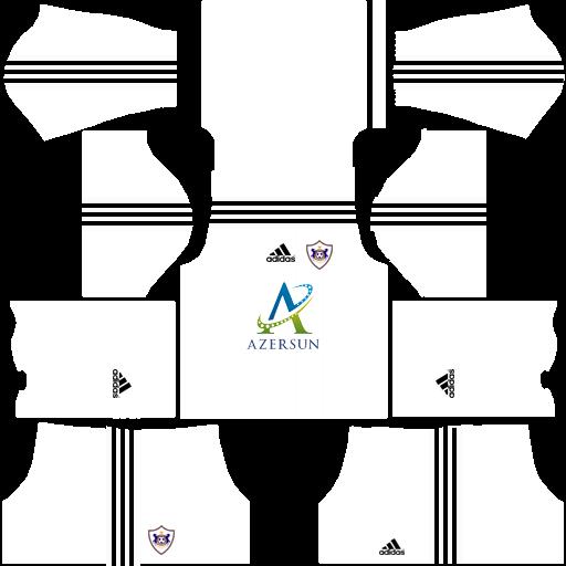 KitandLogoSoccerGames: Qarabağ Logo və Forması UPDATE (HD Logo).