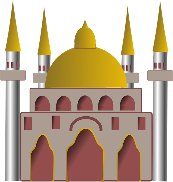 Free vector graphic: Mosque, Islam, Building, Oriental.