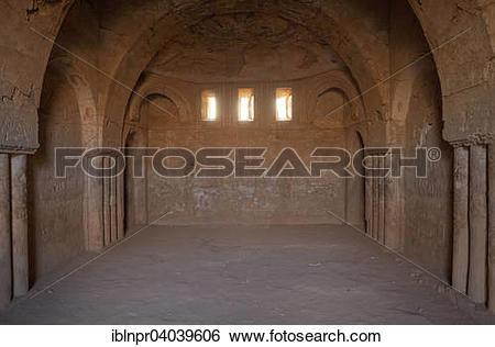 """Stock Images of """"Desert castle Qasr Kharana or Qasr al."""