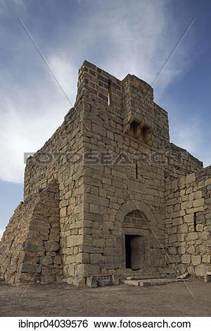 "Stock Images of ""Desert castle Qasr Al."