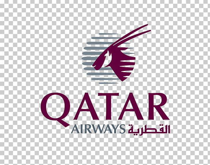 Qatar Airways Logo Airline Oryx PNG, Clipart, Airline, Area.