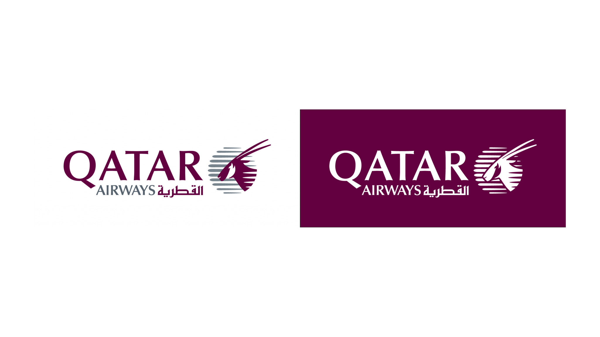 Qatar Airways logo.