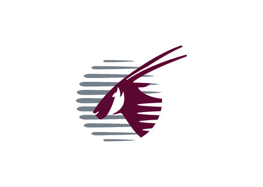Qatar Airways logo.