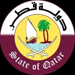 Emblem of Qatar.