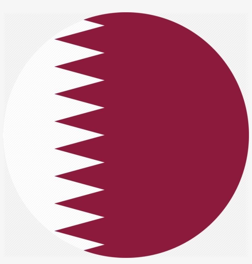 Download Qatar Flag Circle Png Clipart Flag Of Qatar.
