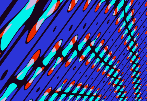 Abstract image from Qbist.
