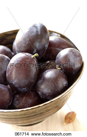 Stock Photo of Quetsch plums 061714.