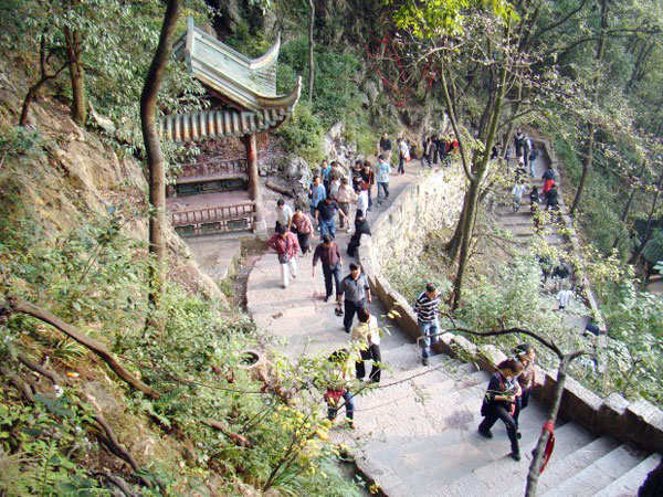 Qianling Park, Guiyang Attractions, Sightseeing in Guizhou.
