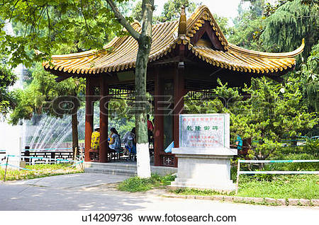 Stock Images of Asia, China, Jiangsu Province, Nanking, Yuhuatai.