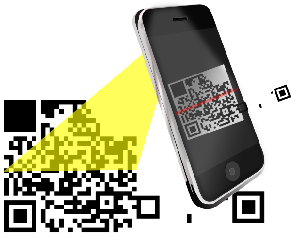 Qr Code Clip Art at Clker.com.
