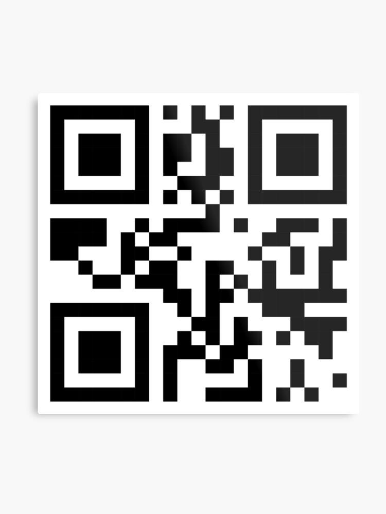QR code sample.
