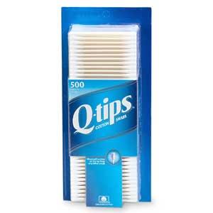 Q tip clip art.