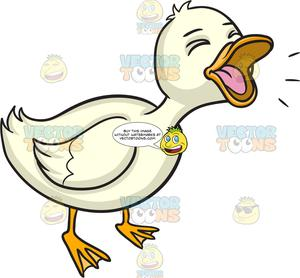 A Quacking Duck.