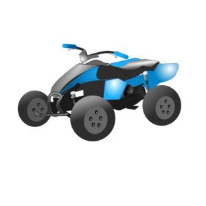 Quad bike clipart.