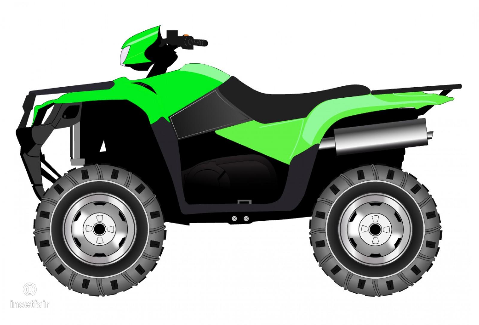 Quad bike vector clipart free png download.