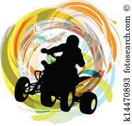 Quad Clip Art Illustrations. 832 quad clipart EPS vector drawings.