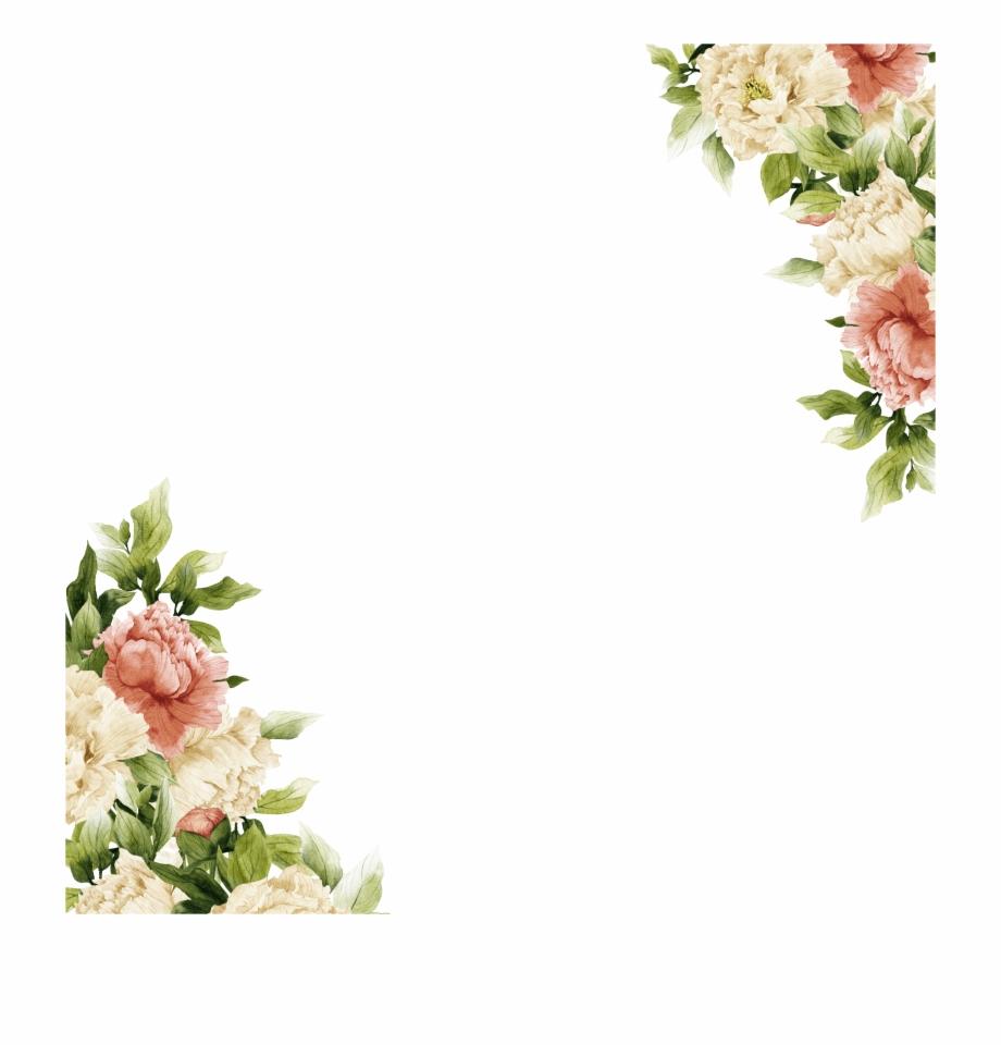 Quadrado Frame Quadrado Floral Png.