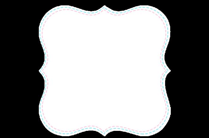 Frame Quadrado Rosa Png Vector, Clipart, PSD.