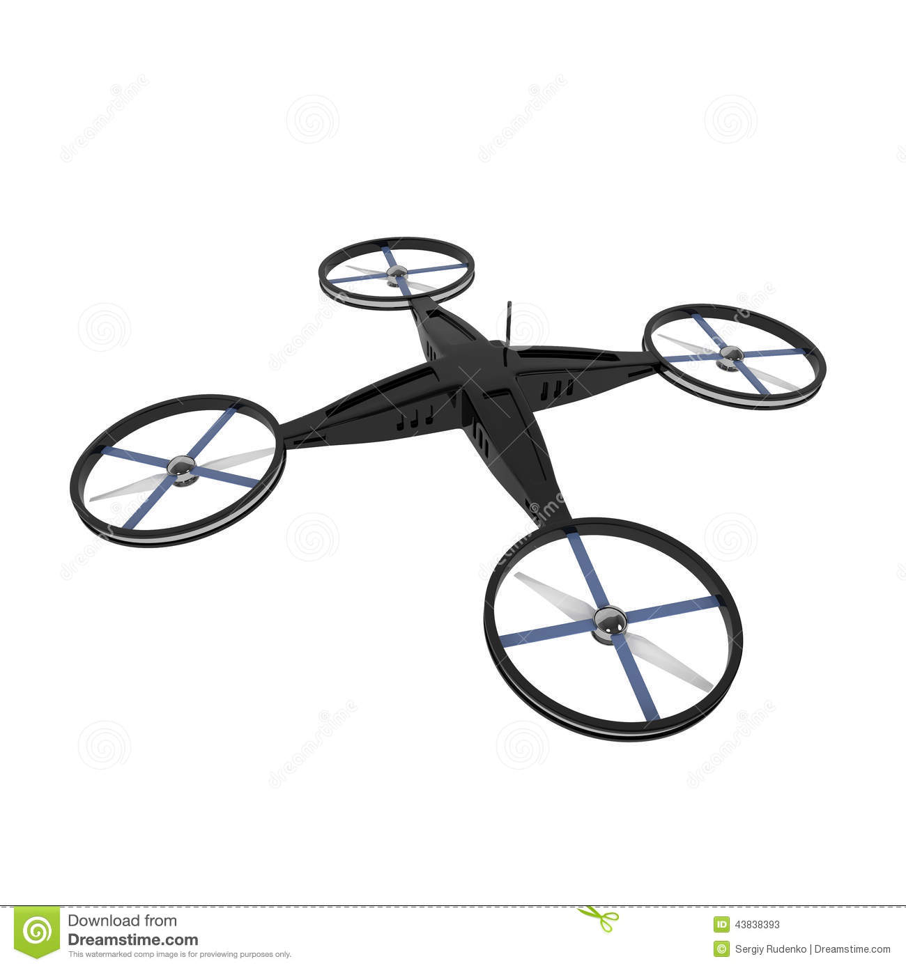 Quadcopter Stock Illustrations.