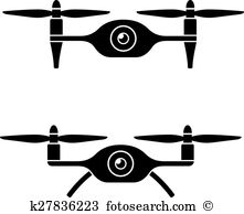 Quadcopter Clip Art Illustrations. 870 quadcopter clipart EPS.