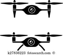 Quadcopter Clip Art Illustrations. 870 quadcopter clipart EPS.