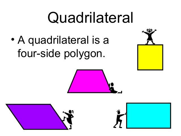 Quadrilaterals.