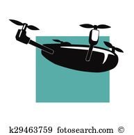 Quadcopter Clip Art Illustrations. 813 quadcopter clipart EPS.
