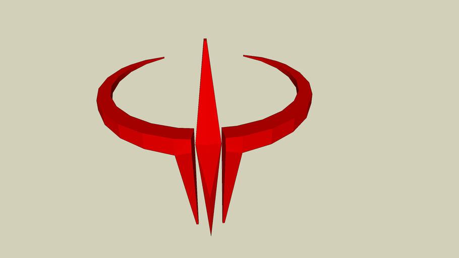 Quake 3 Arena logo.