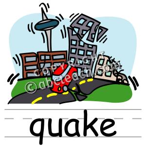 Quake Clipart.