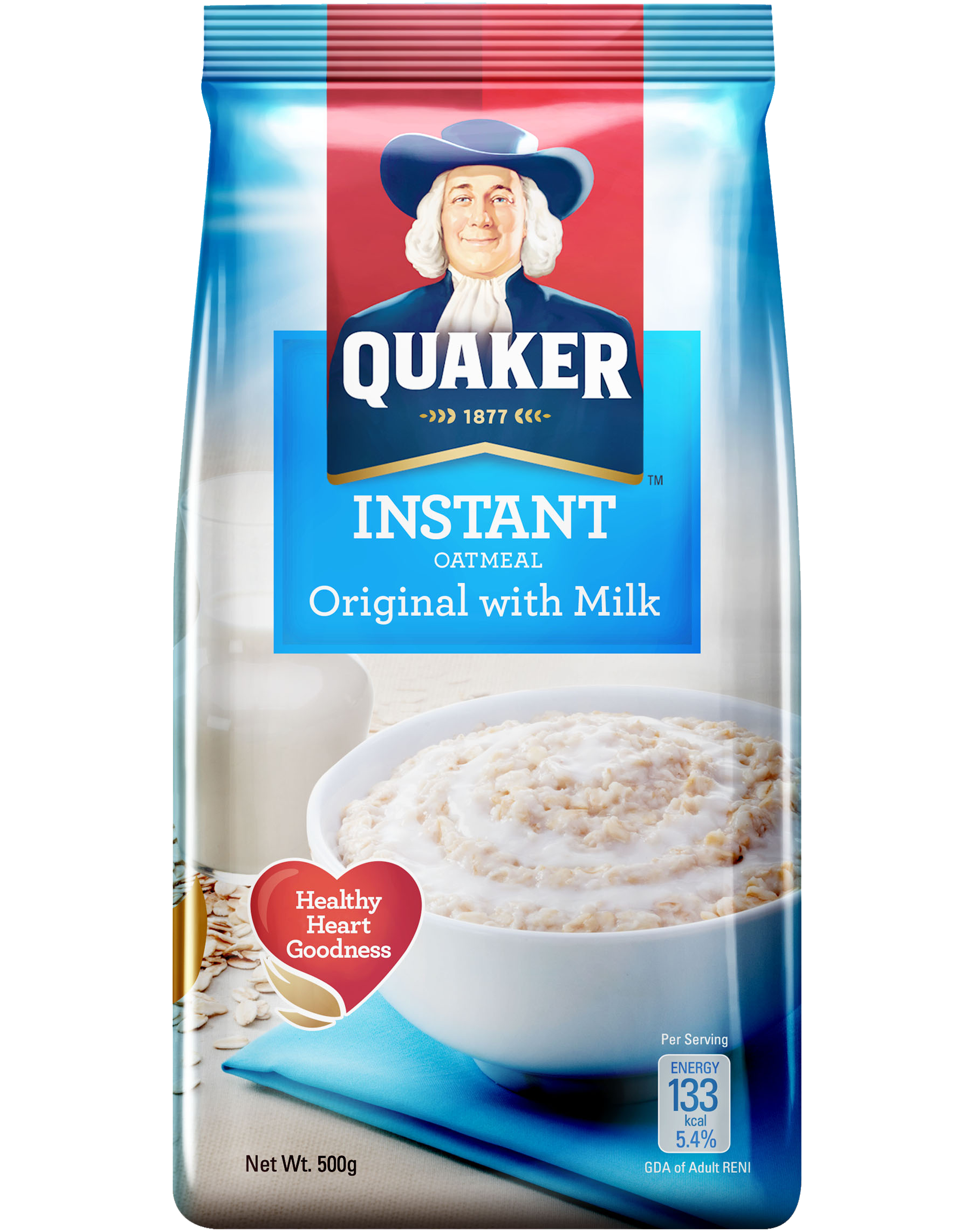 Oatmeal clipart quaker oats, Oatmeal quaker oats Transparent.