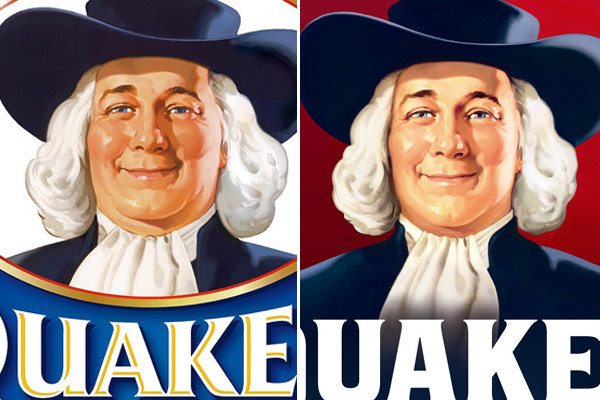 The Quaker Oats Guy Gets a Slimmer New Look.