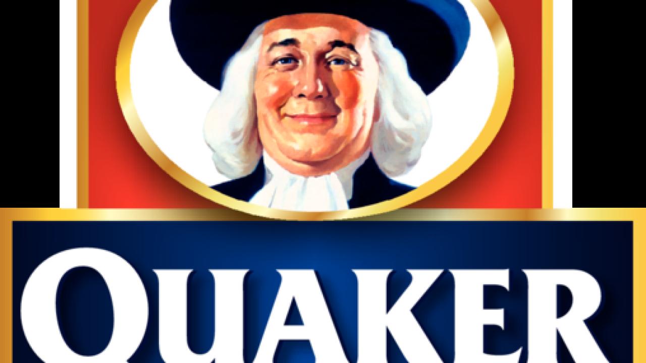 Quaker Oats issues granola bar recall.