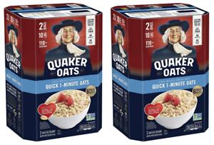 Details about 2 Pack Quaker Oats Quick 1.