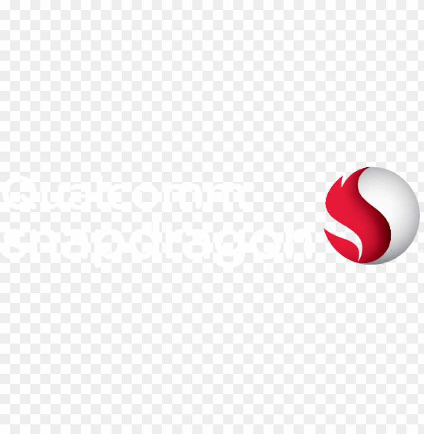 qualcomm snapdragon logo white PNG image with transparent.
