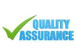 Quality assurance.