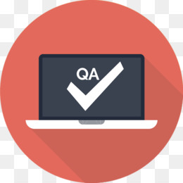 Quality Assurance Blue png download.