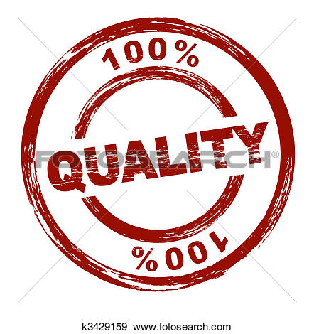 Stock Illustration of 100% Quality k3429159.