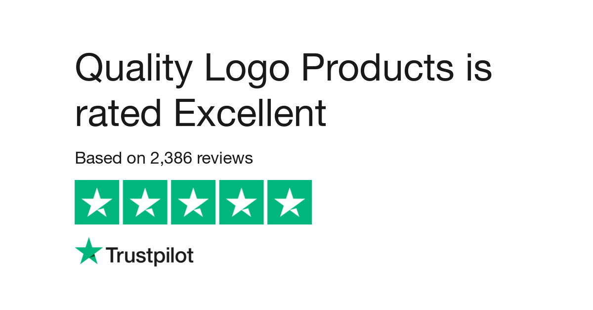 Quality Logo Products Reviews.
