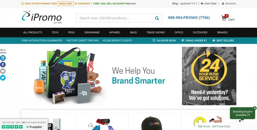 IPromo Review: Good Place to Buy Custom Promo Products?.