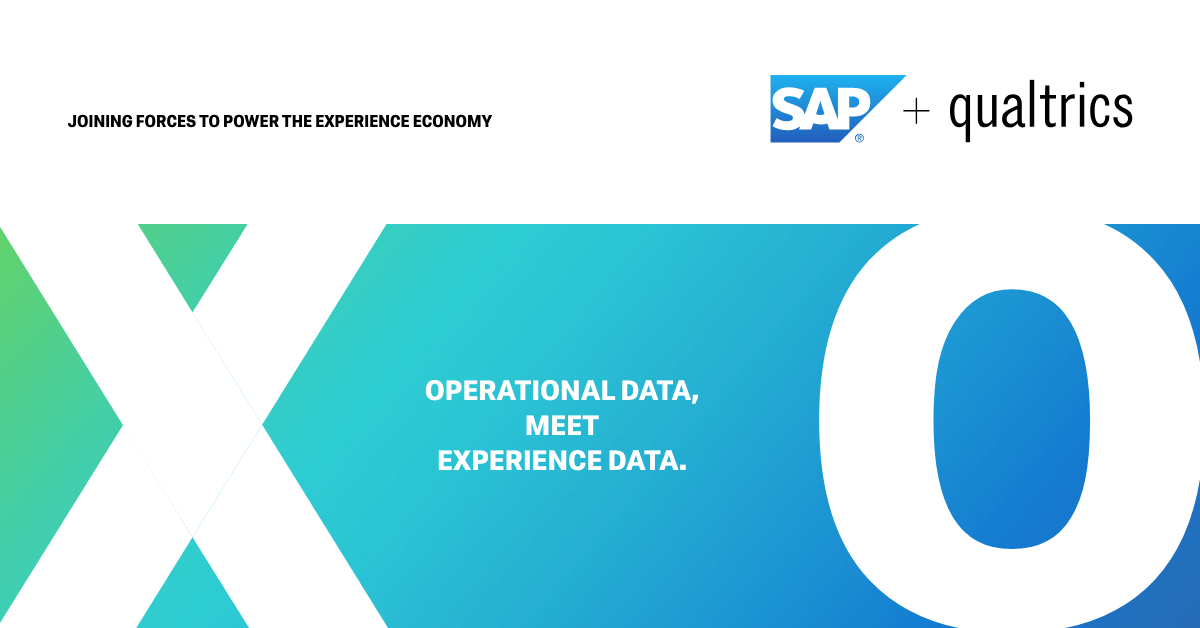 Qualtrics & SAP are Bringing Together the Most Powerful X.