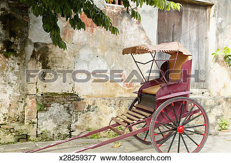 Picture of Vietnam, Quang Nam Danang Province, Hoi An, rickshaw.