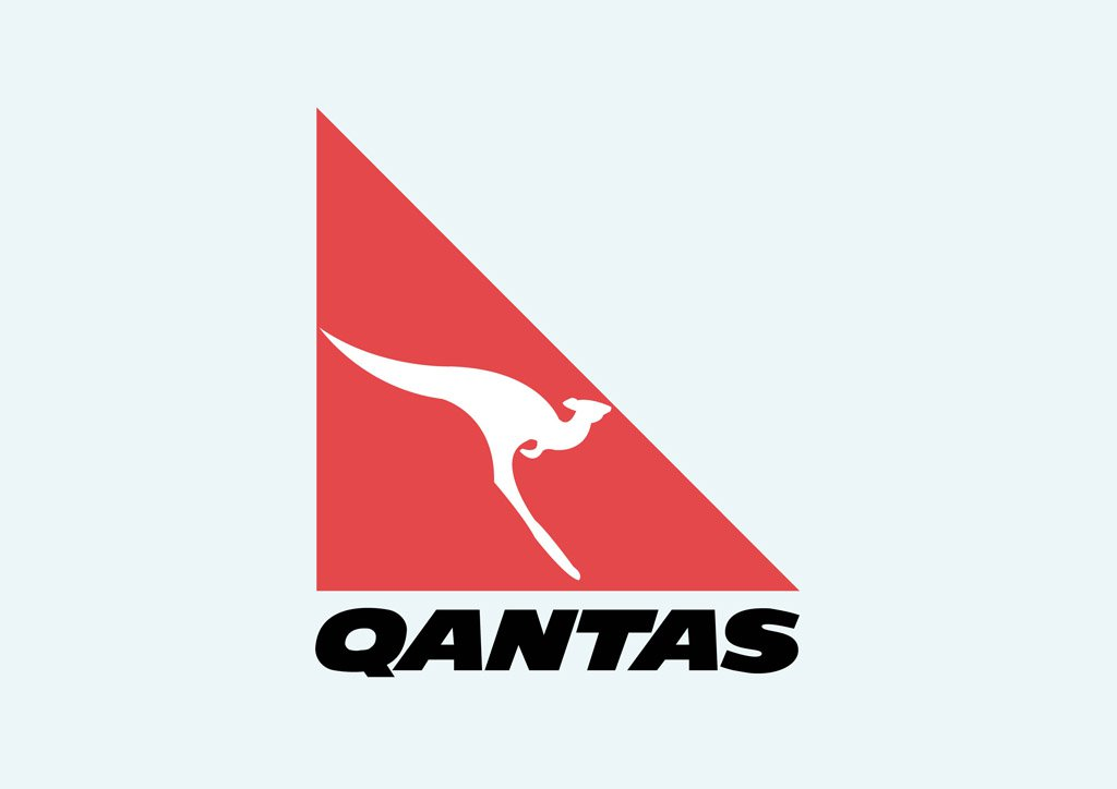 Qantas Vector Art & Graphics.