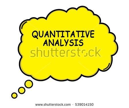 Quantitative Analysis Clipart.