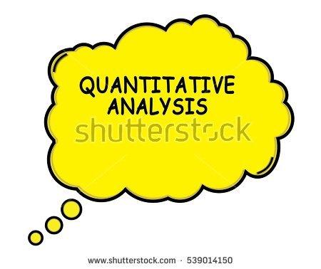 Quantitative Analysis Clipart.