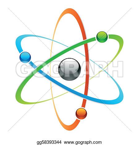 Quantum physics clipart.