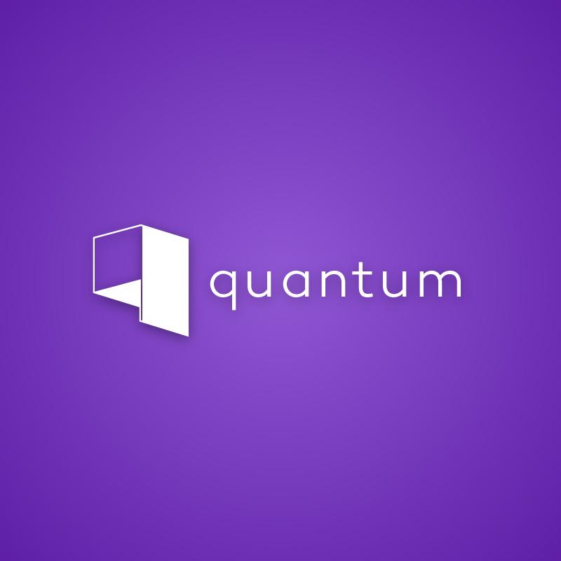 Quantum — Free logo by Roven Logos.