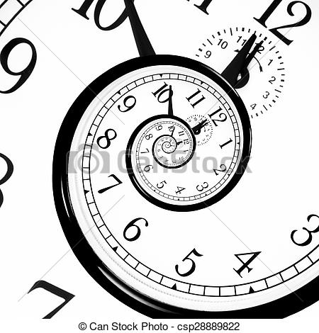 Stock Photo of Time Warp.