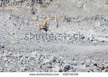 Quarried Stone Stock Photos, Royalty.