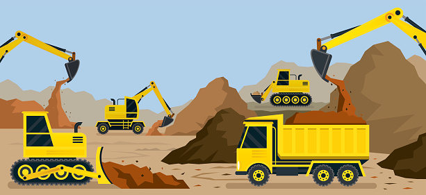 Quarrying clipart - Cl... Rock Clipart Black And White